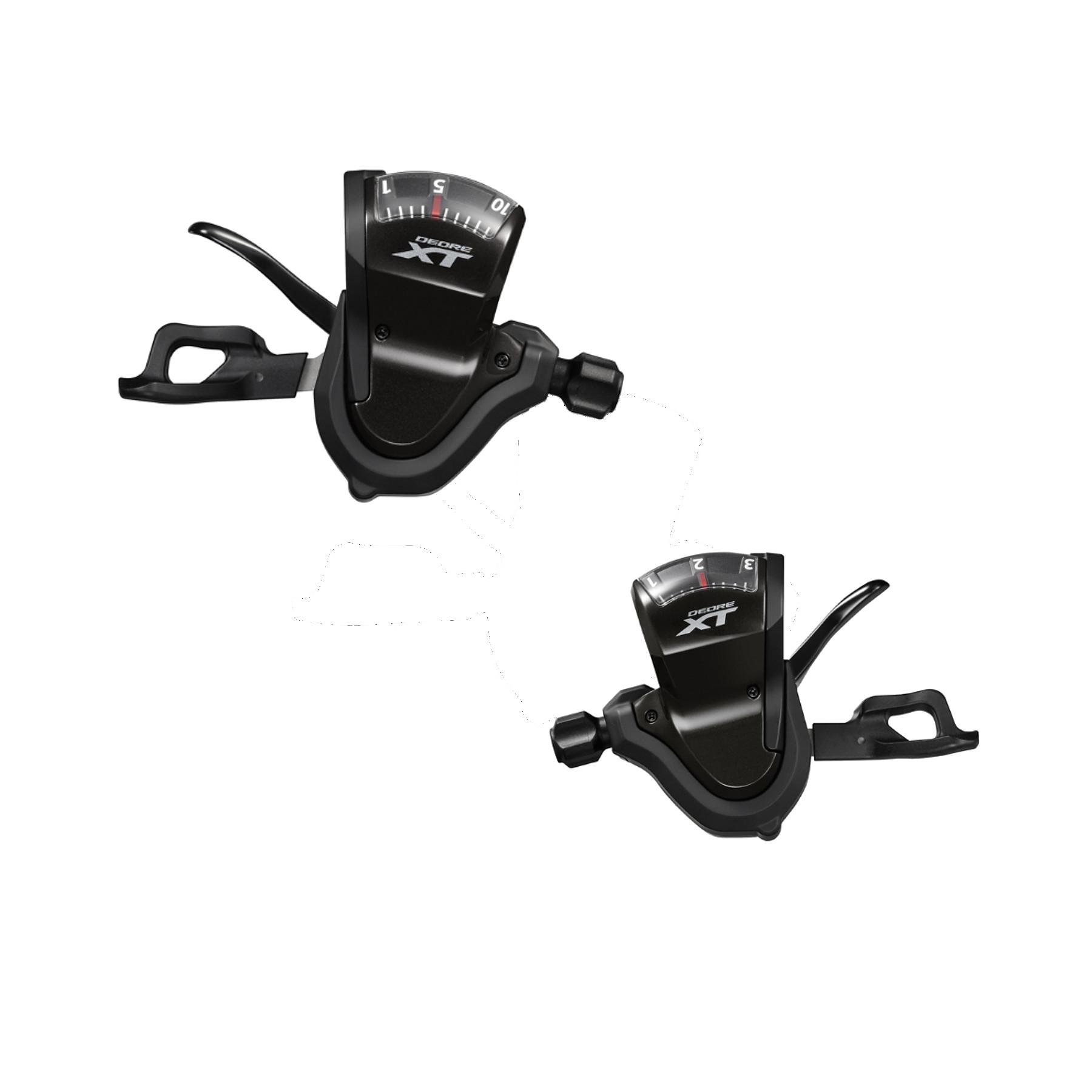Shimano XT Trekking Schalthebel T8000 3/10f.